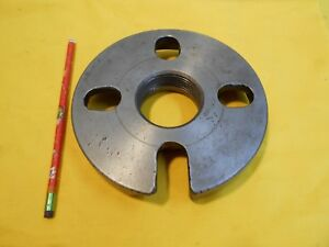 """SOUTH BEND LATHE DOG DRIVE PLATE face work holder tool 6 5/8"""" x 2 1/4""""-8 TPI"""
