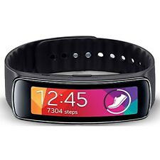 Samsung Gear Fit Smart Watch, Black, Retail packaging