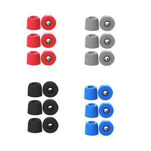 Memory Foam Eartips Tip Buds Earbuds For Jaybird X3 Wireless Sport Headsets Soft