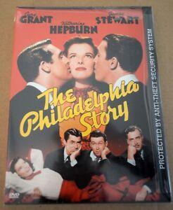 The Philadelphia Story - James Stewart (DVD, 1940) New Sealed Snapcase REGION 1