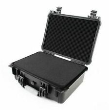"16"" Hard Shell Tactical Weatherproof Case For DSLR HD Hand Gun & Camera w/ Foam"