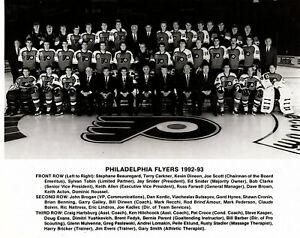 Vintage 1971-1972 Philadelphia Flyers Team Photo
