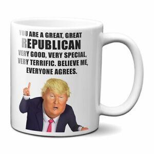 PRESIDENT DONALD TRUMP REPUBLICAN COFFEE MUG