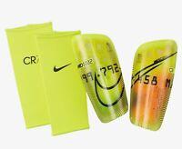 Nike Shin Guards Mercurial Lite CR7 Ronaldo CT0720-757 Size Large