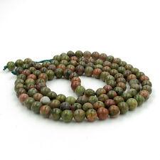 108 Green Gemstone Tibet Buddhist Prayer Beads Mala Necklace