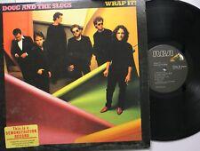Rock Lp Doug & The Slugs Wrap It! On Rca