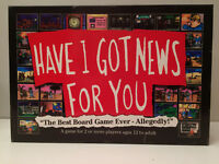 HAVE I GOT NEWS FOR YOU BOARD GAME              K2