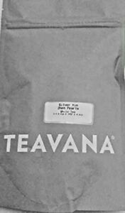 NEW! 🍵 TEAVANA SILVER YIN ZHEN PEARLS 2OZ SEALED BAG ✌️ EXTREMELY RARE TEA!