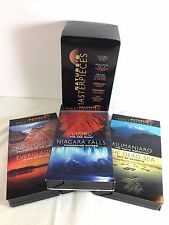 Natures Masterpieces 3 VHS Box Set - Readers Digest Documentary Wildlife