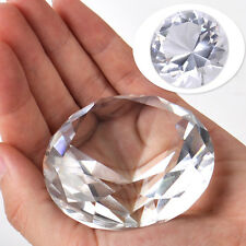 60mm Klar Glasdiamant Kristall Glas Hochzeit Party Christmas Feng Shui Deko NEU