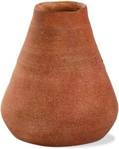TAG Volcano Terracotta Vase, Brick (G13288)