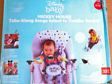 Disney Baby Mickey Mouse Take-Along Songs Infant to Toddler Rocker New
