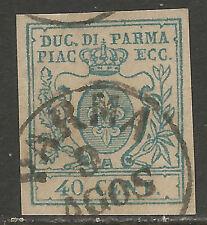 PR11bu - DUCATO DI PARMA - Sassone # 11b (o)