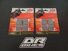 Honda CBR1000RR Fireblade 2008 - 2011 Street Sintered Front Brake Pads 809HS