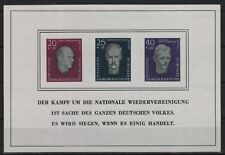 DDR Block 15 (Gedenkstätte Buchenwald) postfrisch