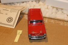 B30 Danbury Mint 1957 Chevrolet Nomad Station Wagon 1:24 Red, Title