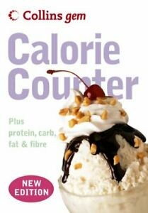 Collins Gem - Calorie Counter by Collins UK Paperback Book The Cheap Fast Free