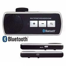 KIT VIVAVOCE BLUETOOTH PER AUTO UNIVERSALE SPEAKER SAMSUNG S6 S7 HUAWEY IPHONE