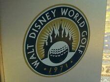 Very Rare 1971 Walt Disney World First Annual Golf Open Souvenir Key Fob Watch