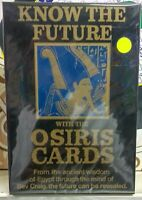 Vintage know the future with the Osiris cards by INVICTA Made in England 1980