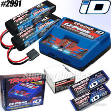 Traxxas completer pack includes (1) #2972 Dual ID charger and (2) 7600mAh lipos