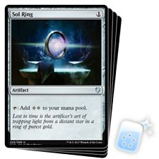 SOL RING X4 Commander 2017 Magic MTG MINT CARD