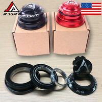 JESSICA 44-55mm Bicycle Double Bearing Headsets MTB/Road Bike Tapered Fork Tube