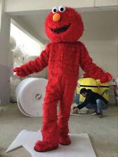 Good Sesame Street Red Elmo Monster mascot costume Cartoon Fancy Dress+EPE Head