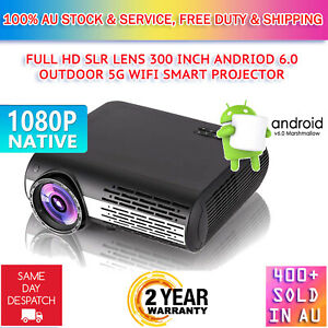 8500Lumen Native 1080P Android SLR Lens WiFi Outdoor Home Theatre LED Projector