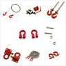 RC 1/10 Scale Alloy Hitch Tow Shackles Hooks For AXIAL SCX10 D90 Car Crawler