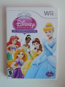 Disney Princess: My Fairytale Adventure Game Complete! Nintendo Wii