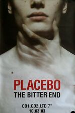 Placebo Rare Vintage Original Giant Poster  37x55 FREE INT.SHIPPING