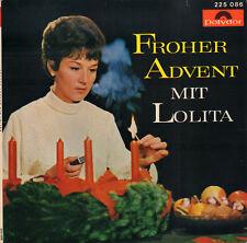 "LOLITA - Froher Advent Mit Lolota (1965 VINYL EP 7"")"