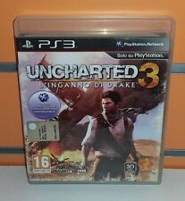 Uncharted 3 - L'inganno di Drake PS3 USATO ITA