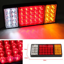 US 12V 36LED Rear Tail Light Brake Stop Indicator Lamp Trailer Truck Van Caravan