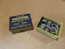 Wickwire Starter Pedal Release Spring - Chrysler Dodge Desoto Plymouth BOX OF 6