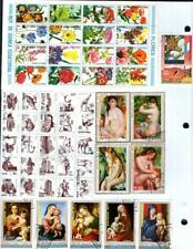 1¢ WONDER'S ~ WORLDWIDE TOPICALS M&U SMALL LOT ON PAGE ALL SHOWN ~ E189