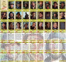 Kellys Heroes movie Trading cards Eastwood Savalas Sutherland