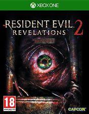 RESIDENT EVIL REVELATIONS 2 XBOX ONE ESPAÑOL NUEVO CASTELLANO PRECINTADO ESPA