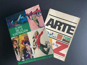 Lote de x2 Libros: El arte de la ilustracion y el arte de la A a la Z Historia