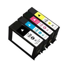 4 pack Comp 100XL Ink Combo For Lexmark 100XL S301 S305 S405 S505 S605 S815