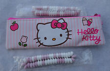 Trousse Hello Kitty rose + 2 candy bracelets