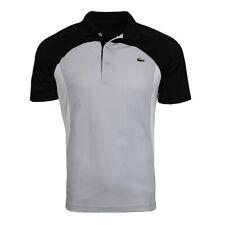 Lacoste Men's Sport Colorblock Breathable Piqué Tennis Polo Shirt Dh4748 Rwr
