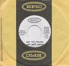 JEFF BECK GROUP  Got The Feeling  rare promo 45 from 1971