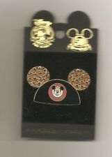 DLR Jeweled Mickey Mouse Eared Pin
