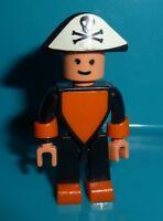 Ü-Ei Figur Pirat Steckfigur Dreieckskörper Variable