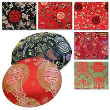 Round Shape Cover*Chinese Rayon Brocade Floor Chair Seat Cushion Case *BL11