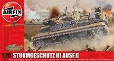 Airfix A01306 1/76 Plastic WWII German Assault Gun 75mm Stug. III