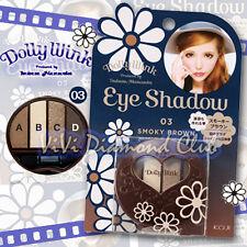 KOJI Dolly Wink Tsubasa Masuwaka Eye Shadow Palette 03 SMOKY BROWN New Version