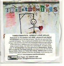 (M336) Threatmantics, Upbeat Love - DJ CD